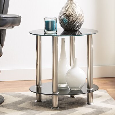 Eduardo Round End Table