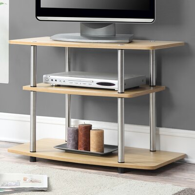 Edwin 31.5 TV Stand Color: Light Oak