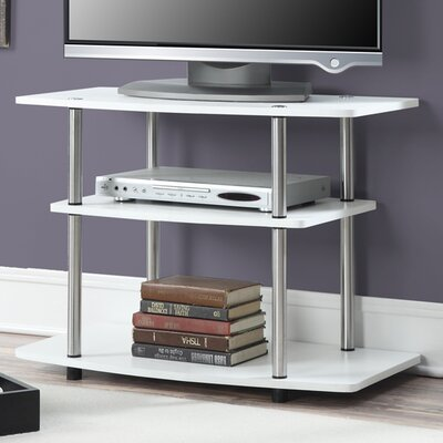 Edwin 31.5 TV Stand Color: White