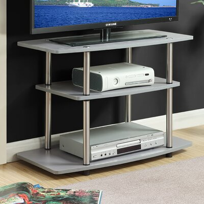 Edwin 31.5 TV Stand Color: Gray