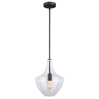 Alani 1-Light Schoolhouse Pendant Finish: Oil Rubbed Bronze