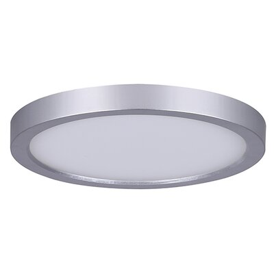 Bria LED Flush Mount Finish: Brushed Nickel