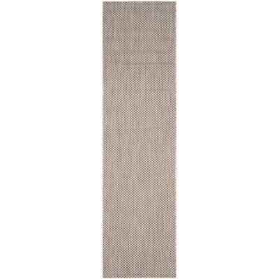 Mullen Beige/Brown Area Rug Rug Size: Runner 23 x 8