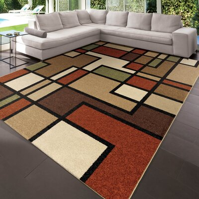 Leyla Thorburn Beige/Brown Indoor/Outdoor Area Rug