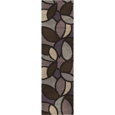 Damien Purple Area Rug Rug Size: Runner 23 x 8