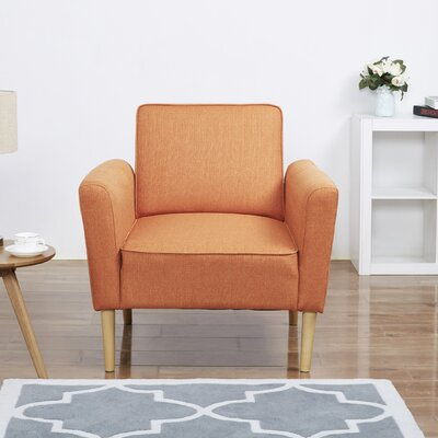 Daphne Armchair Upholstery: Orange