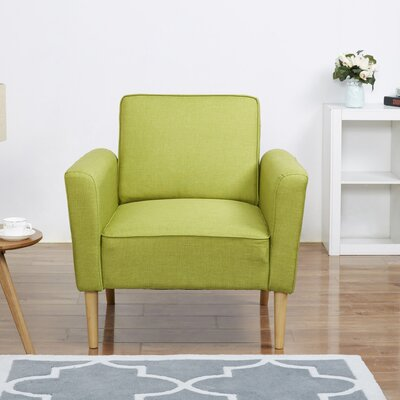 Daphne Armchair Upholstery: Lime