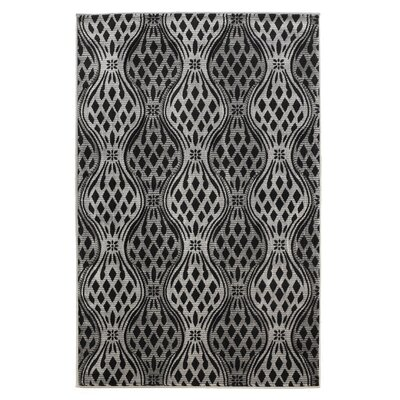 Cramden Grey Area Rug Rug Size: Rectangle 5 x 77