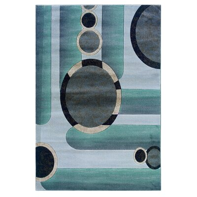 Carina Grey/Seaglass Area Rug Rug Size: Rectangle 2 x 3