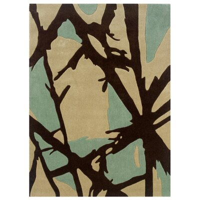 Harry Hand-Tufted Ivory Area Rug Rug Size: 110 x 210