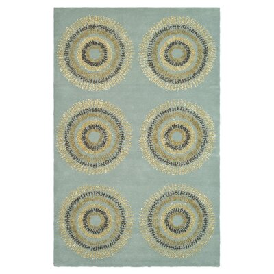 Chidi Geometric Area Rug Rug Size: Rectangle 2 x 3