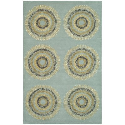 Chidi Geometric Area Rug Rug Size: Rectangle 5 x 8