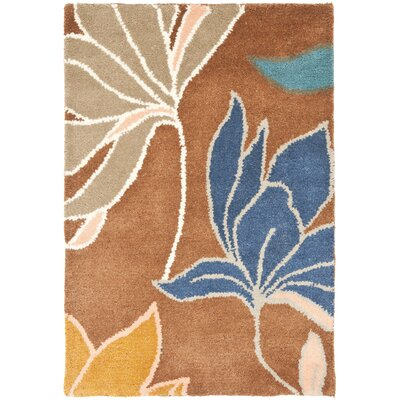Freda Brown/Dark Light Multi Contemporary Rug Rug Size: Rectangle 2 x 3