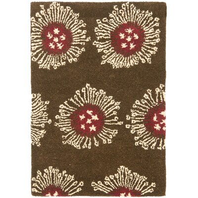 Chidi Brown/Multi Contemporary Rug Rug Size: Rectangle 2 x 3