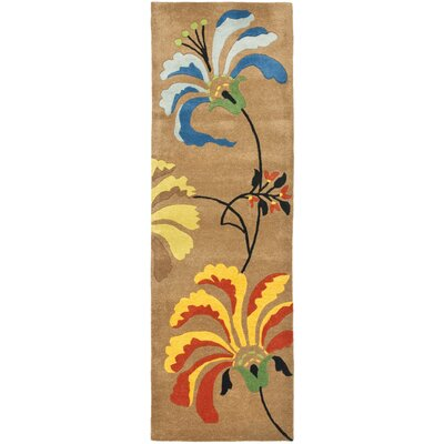 Chidi Brown Area Rug Rug Size: Runner 26 x 8