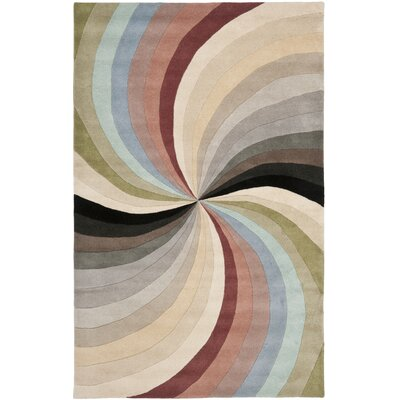 Chidi Abstract Area Rug Rug Size: 36 x 56