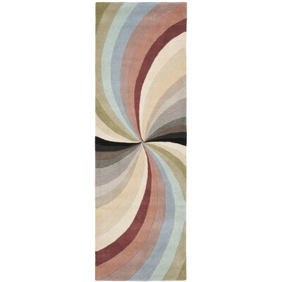 Chidi Abstract Area Rug Rug Size: Runner 26 x 8
