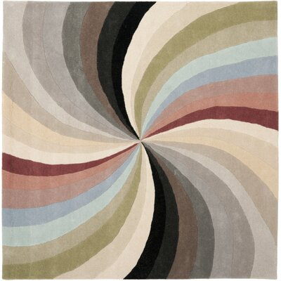 Chidi Abstract Area Rug Rug Size: Square 6