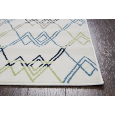 Melva Geometric Indoor/Outdoor Area Rug Rug Size: Runner 23 x 77