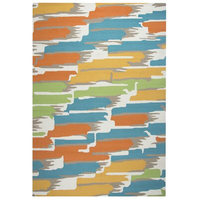 June Hand-Tufted Indoor/Outdoor Area Rug Size: 2 x 3