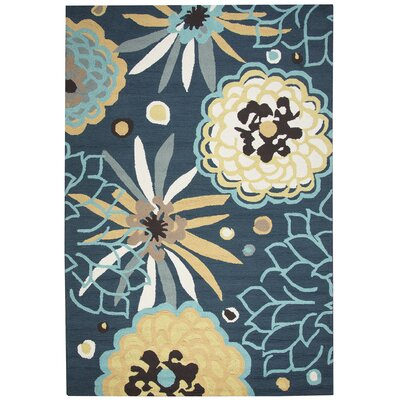 Evangeline Stain Resistant Hand-Tufted Indoor/Outdoor Area Rug Size: Rectangle 5 x 76