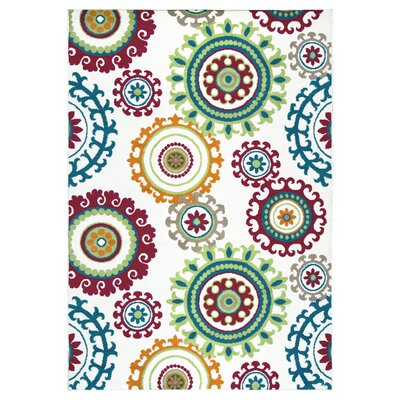 Melva Floral Indoor/Outdoor Area Rug Rug Size: 710 x 1010