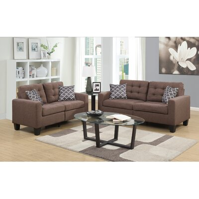 Burcet Sofa and Loveseat Set