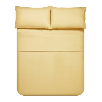 Sariah Super Soft 4 Piece Sheet Set Color: Gold