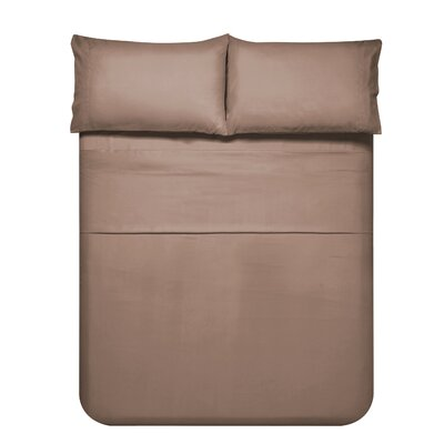 Sariah Super Soft 4 Piece Sheet Set Color: Natural