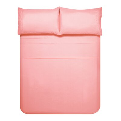 Sariah Super Soft 4 Piece Sheet Set Color: Pink