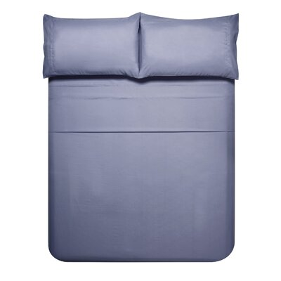 Sariah Super Soft 4 Piece Sheet Set Color: Lavender Gray