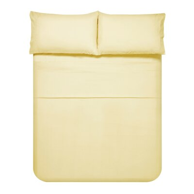 Sariah Super Soft 4 Piece Sheet Set Color: Beige