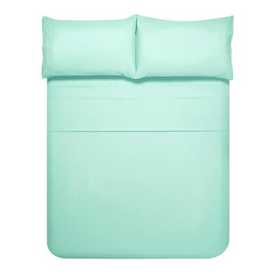 Sariah Super Soft 4 Piece Sheet Set Color: Light Blue