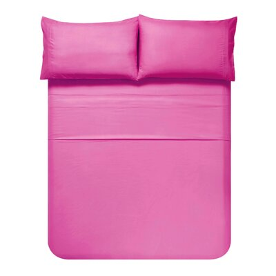 Sariah Super Soft 4 Piece Sheet Set Color: Deco Rose