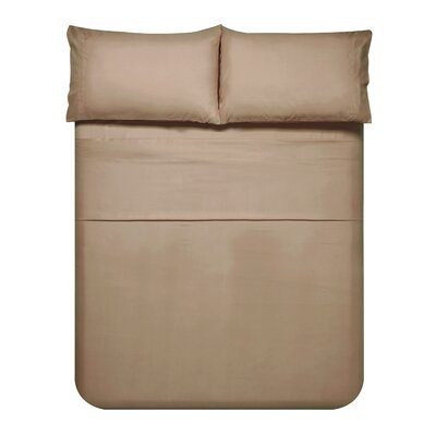 Sariah Super Soft 4 Piece Sheet Set Color: Sesame