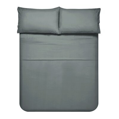 Sariah Super Soft 4 Piece Sheet Set Color: Charcoal