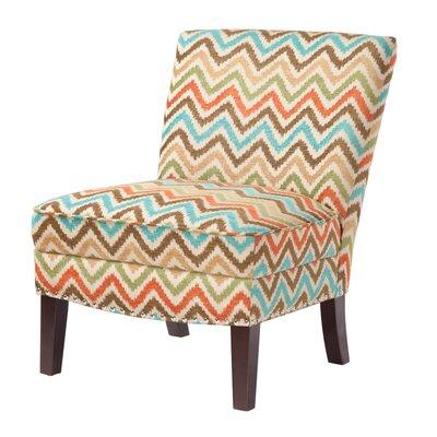 Brenna Curved Back Slipper Chair