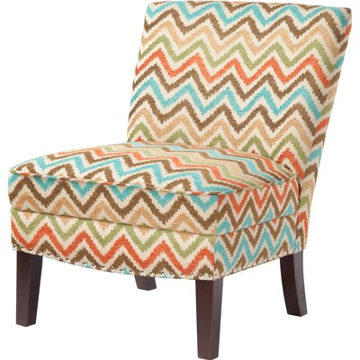 Brenna Curved Back Slipper Chair