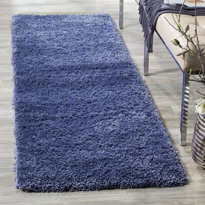 Enrique Periwinkle Area Rug Rug Size: Rectangle 23 x 7