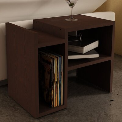 Capucine End Table Color: Wenge
