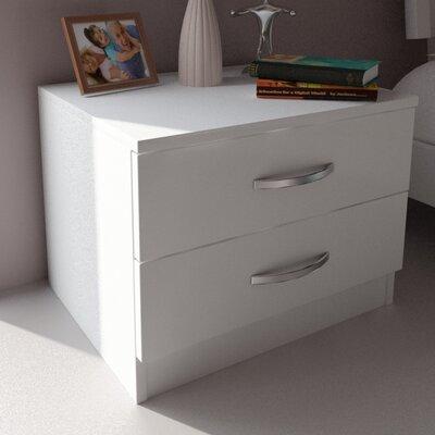 Siena 2 Drawer Nightstand