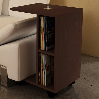 Raquel End Table Finish: Wenge