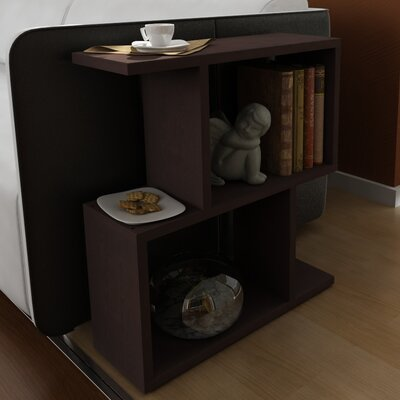 Lilianna End Table Color: Wenge
