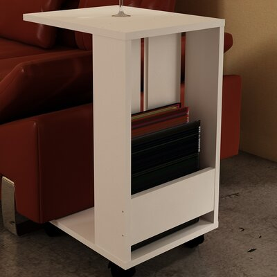Chanell End Table Finish: White