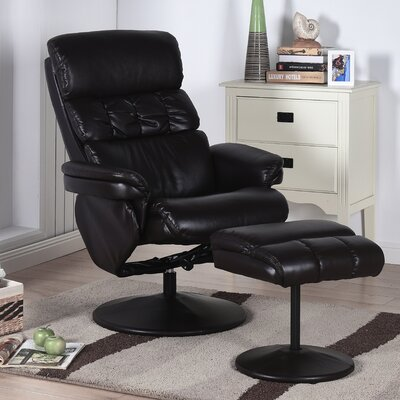Carissa Recliner With Ottoman