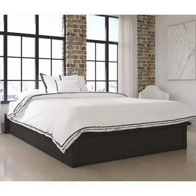 Armani Upholstered Platform Bed Size: Queen