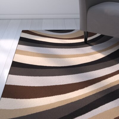 Bette Contemporary Area Rug Rug Size: 53 x 76