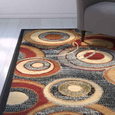 Anne Gray Area Rug Rug Size: Runner 23 x 7
