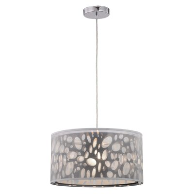 Hailee 1-Light Mini Pendant Size: 9 H x 16 W x 16 D
