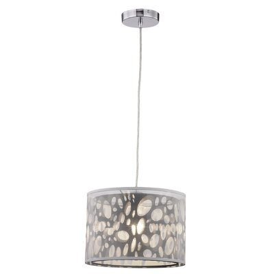 Hailee 1-Light Mini Pendant Size: 9 H x 12 W x 12 D